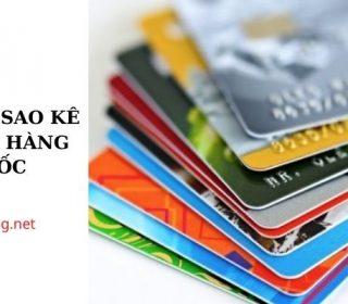 cách tính sao kê vay ngân hàng đơn giản nhất