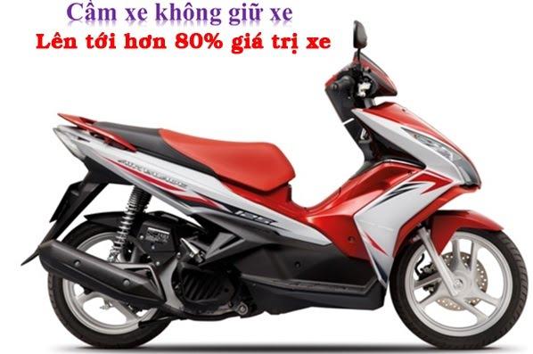cầm cavet xe máy giá cao tại Đà Nẵng